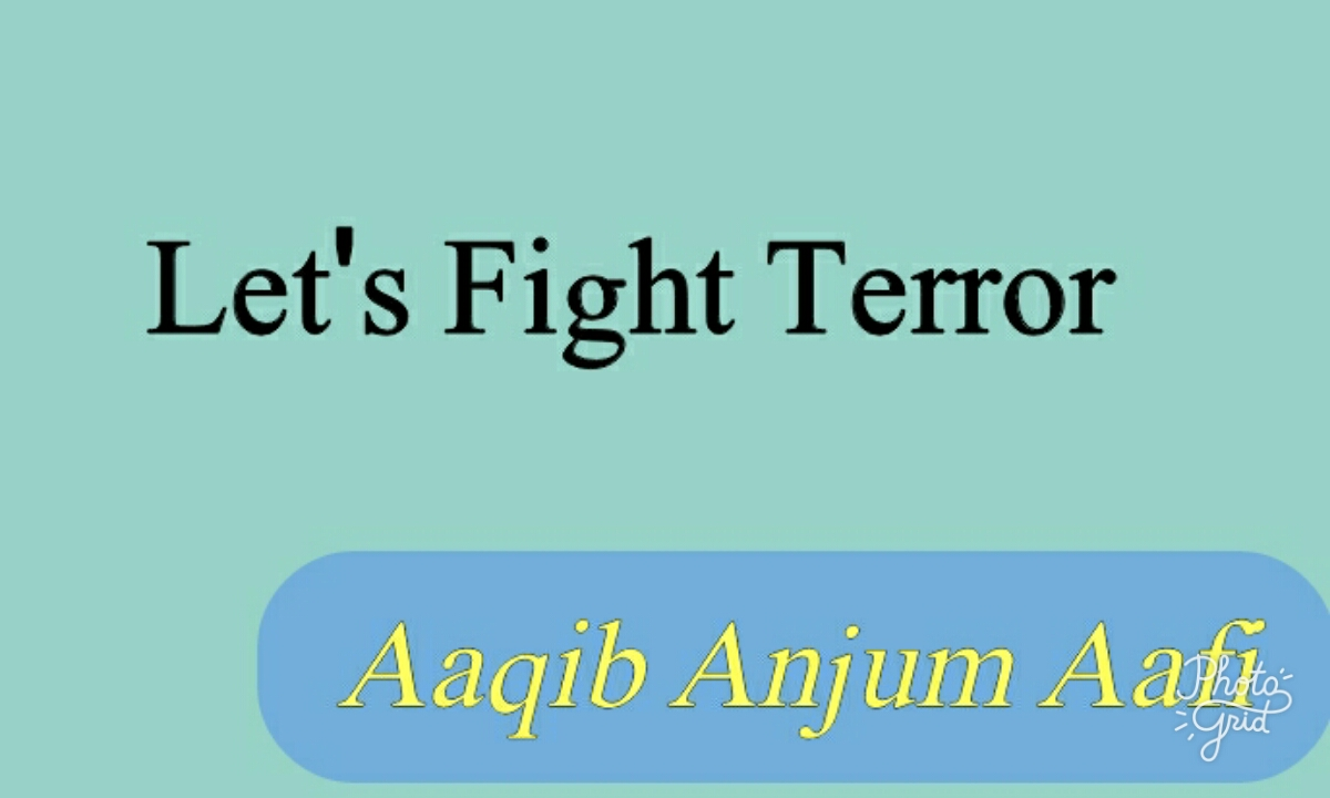 Let's Fight Terror